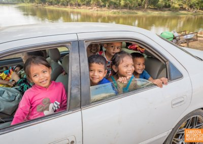 How many kids can you fit in a car-