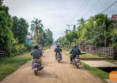 Preah Rumkel in the North of Cambodia